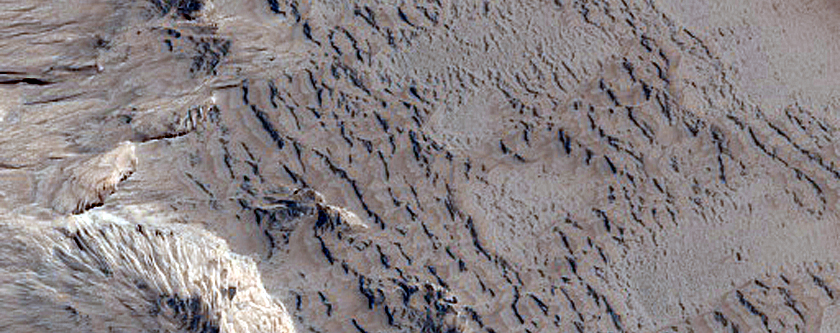 Possible Sulfate-Rich Terrain