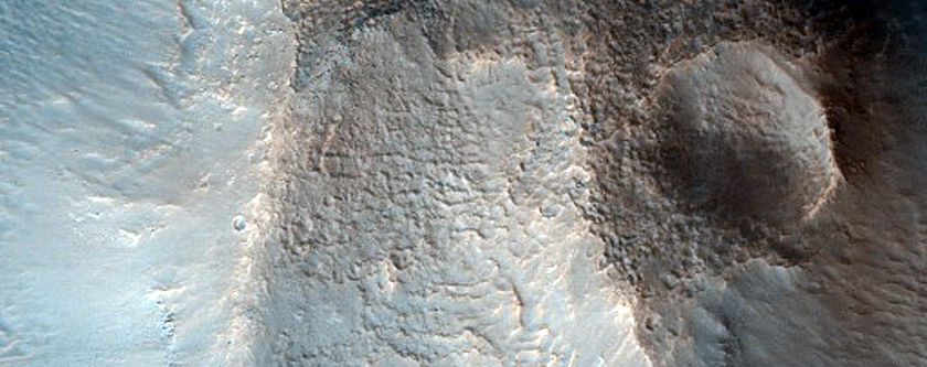 Massifs in Cydonia Colles