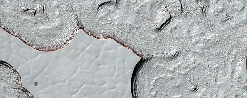 South Polar Residual Polar Cap
