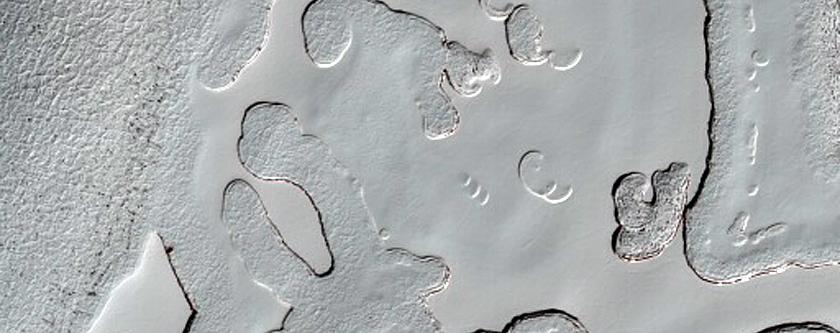South Polar Residual Cap Intraseasonal Change Monitoring
