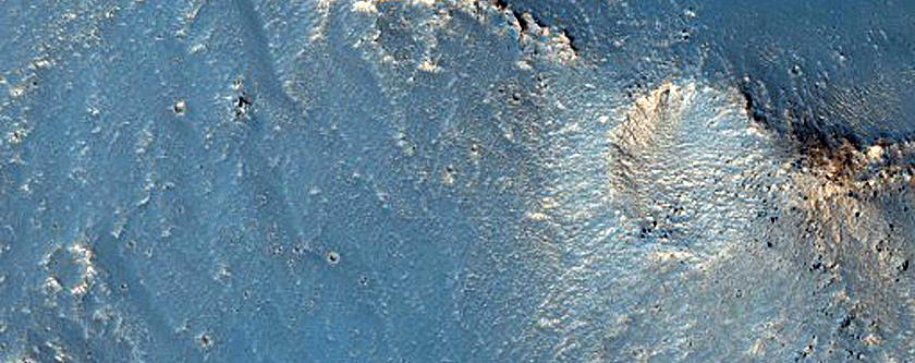 Floor of East Candor Chasma
