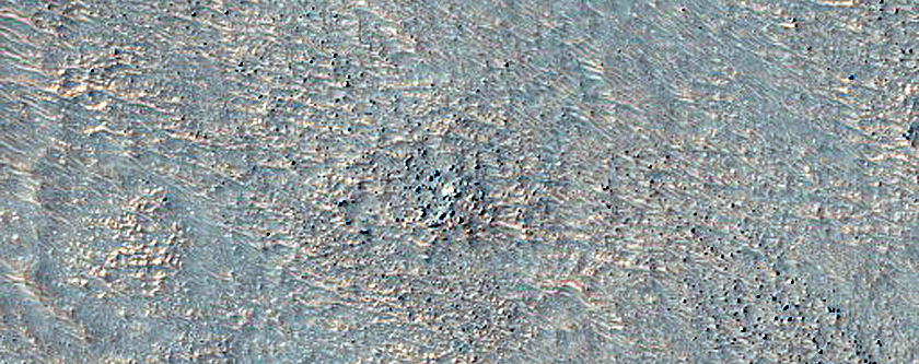 Possible Olivine-Rich Knob in Argyre Planitia