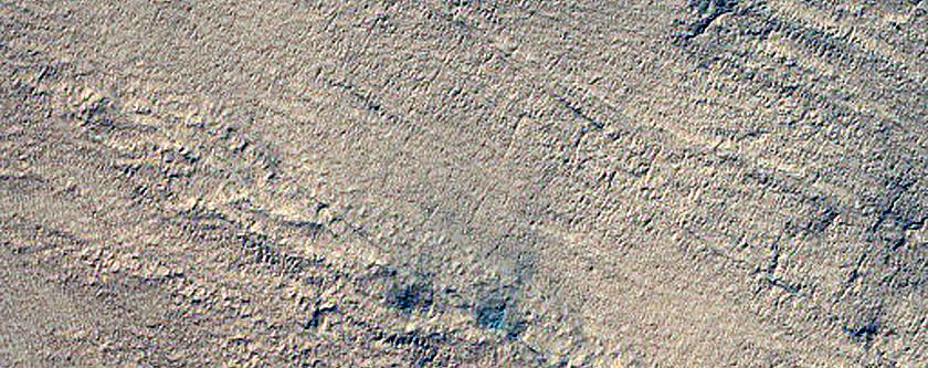 Circular Features on South Polar Layered Deposits