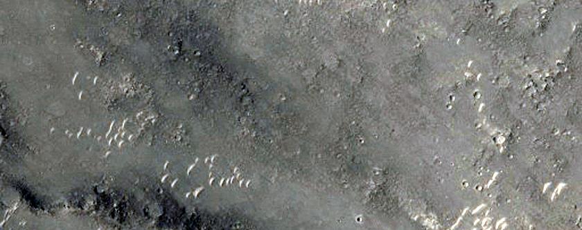 Gusev Crater Mesas
