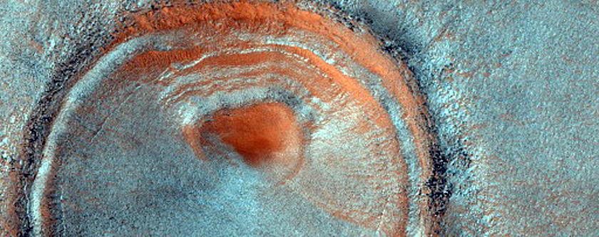 Fresh Impact Crater