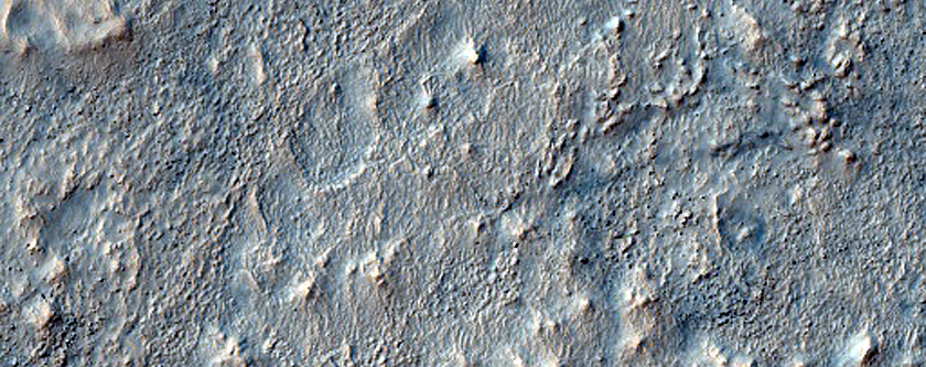 Craters Southeast of Icaria Planum