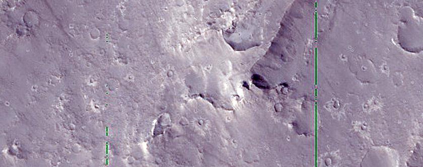 Ridges in Elysium Planitia