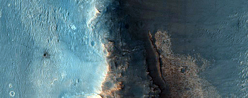 Opportunity Rover at Endeavour Crater