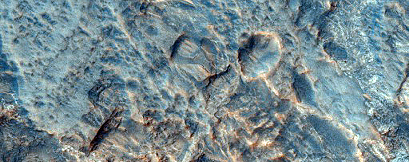 Dissected Fan or Delta in Terby Crater