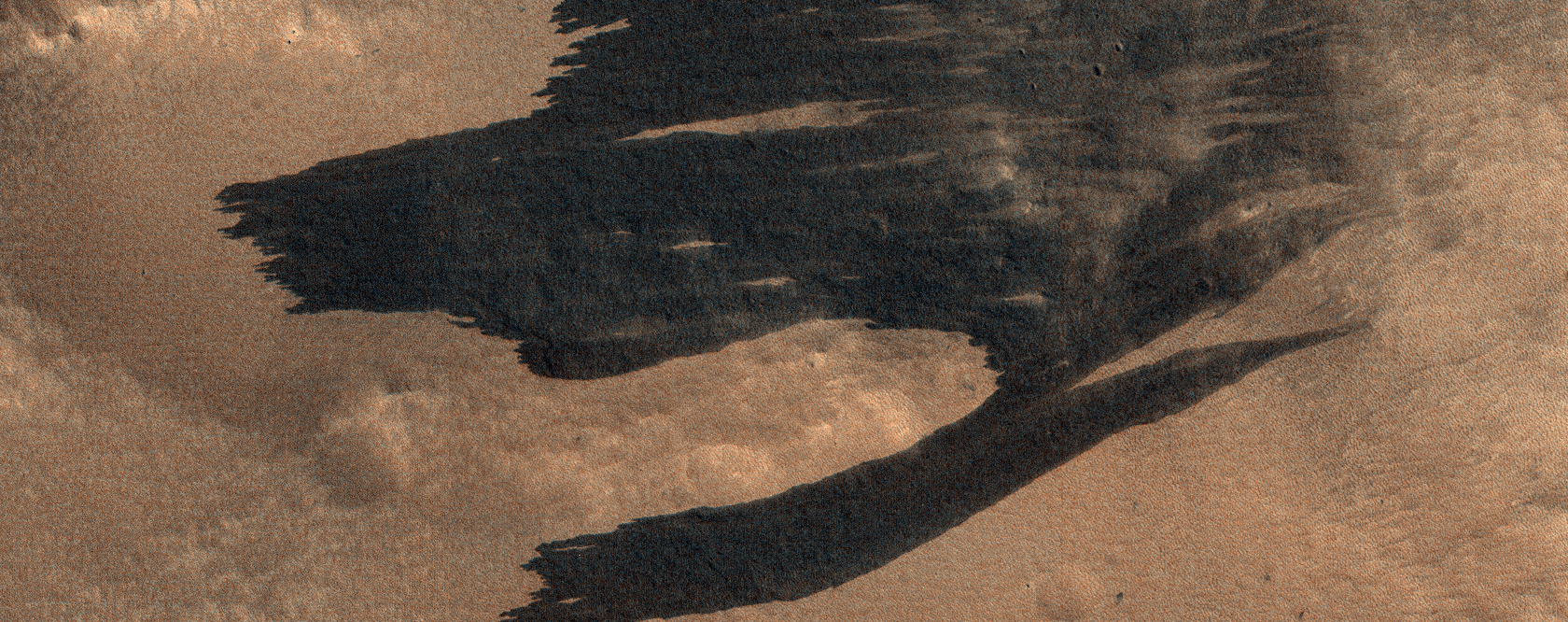 Impact-Induced Dust Avalanches