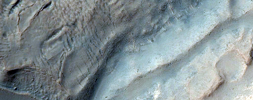 Gullied Impact Crater
