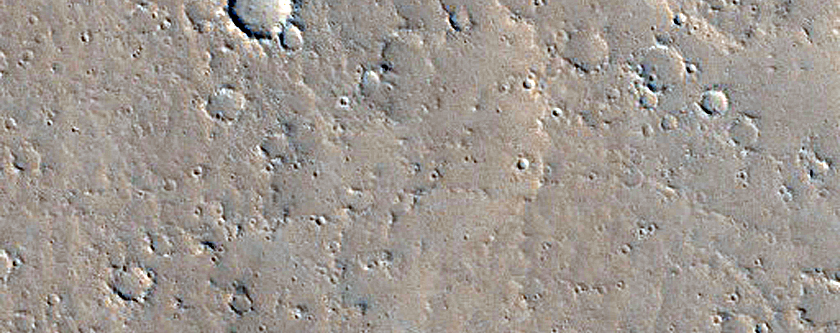 Thin Flows South of Fissure near Jovis Tholus