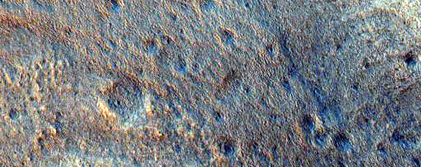 Fan in Crater