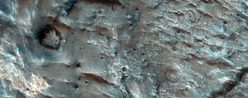 Tyrrhena Terra Intercrater Plains Deposits