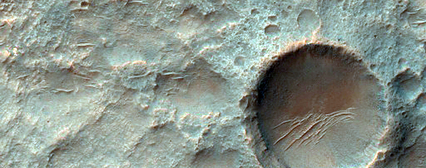 Sinuous Ridge and Butte and Mesa-Forming Intercrater Terrain