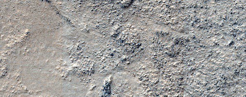 Possible Clay and Sulfate-Rich Terrain