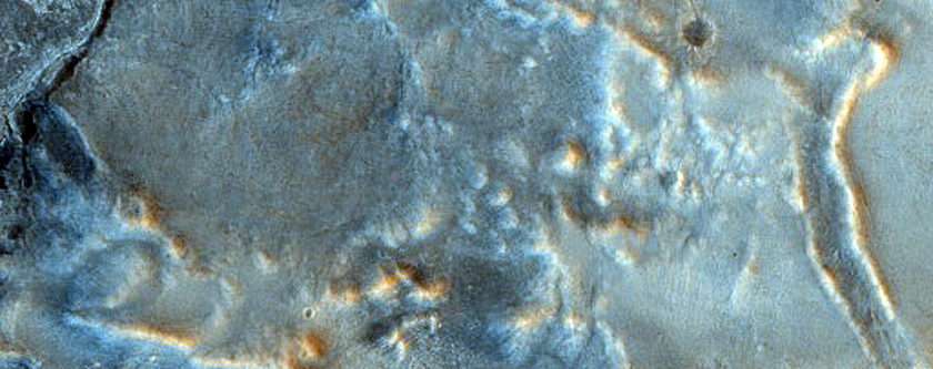 Hunt for Ancient Impact Craters Near Nili Fossae