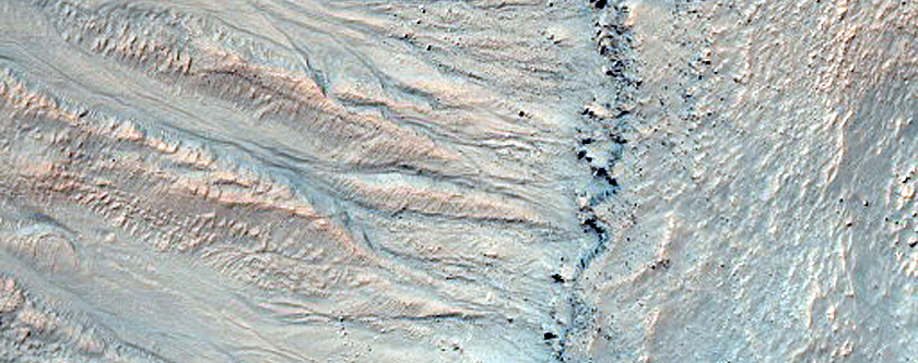 Monitor Crater Slope