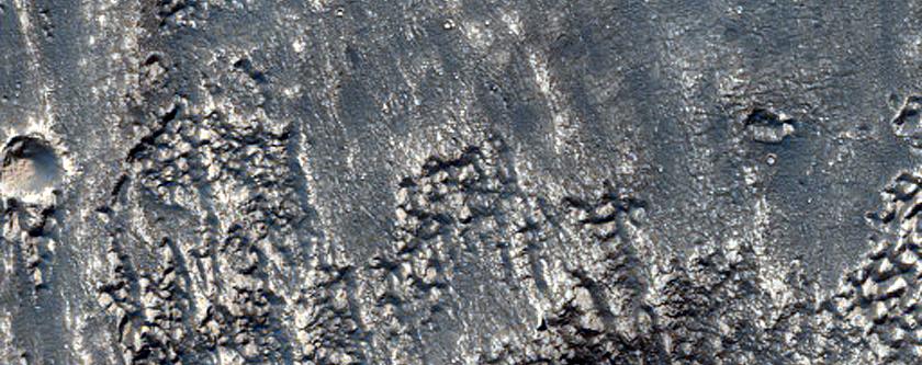 Depression Near Warrego Valles Uplands