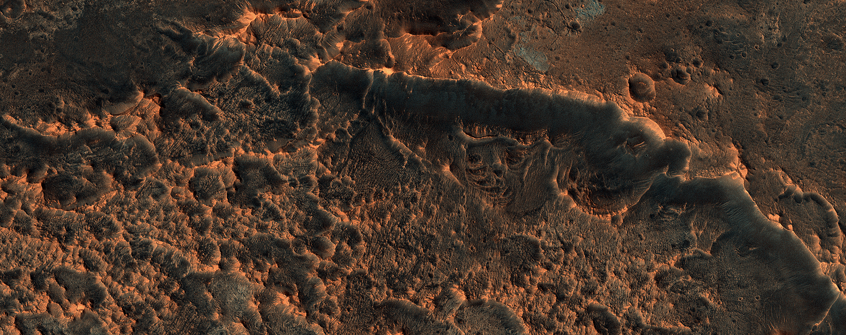 The Changing Surface of Mars