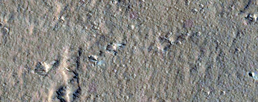 Pit on Ascraeus Mons