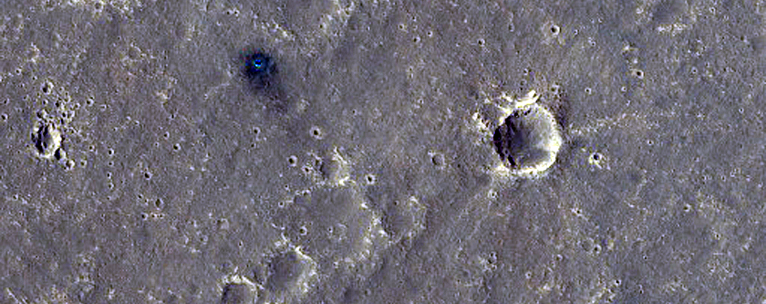 Change Detection Monitoring at InSight Landing Site
