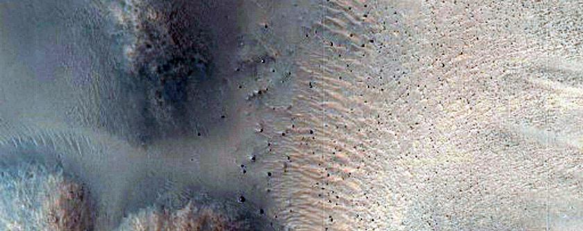 Krupac Crater Slope Monitoring