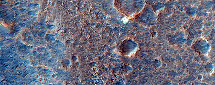 Layer Exposures around Mawrth Vallis