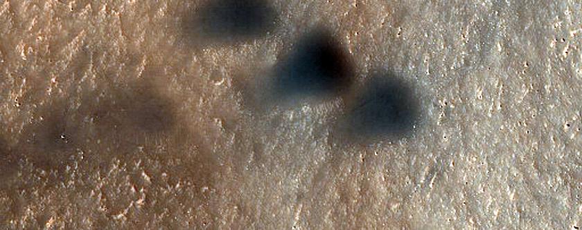 Moreux Crater Bedform Monitoring