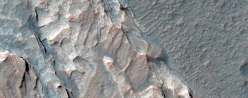 Possible Jarosite-Rich Stratigraphy in Terra Sirenum