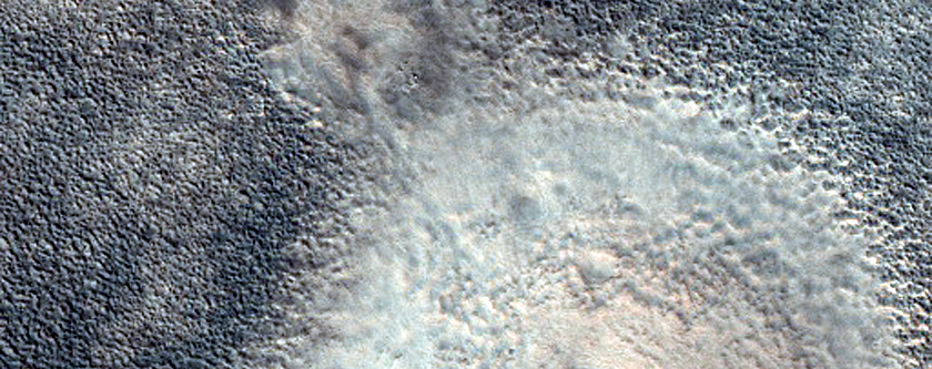 Pitted Mounds in Chryse Planitia