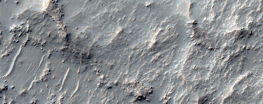 South Mid-Latitude Craters
