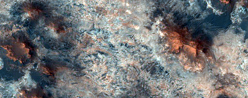 Possible Phyllosilicate-Rich Stratigraphy in Western Mawrth Vallis