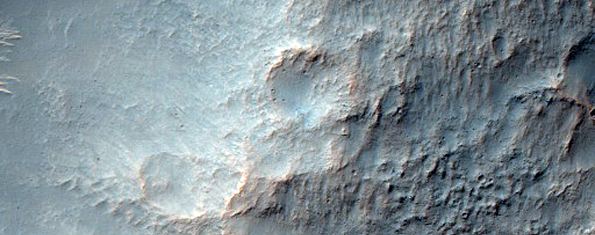 Tilted Layers in Electris Region