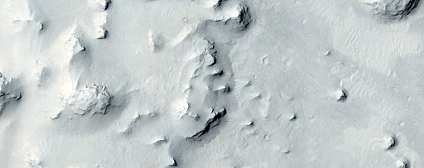 Layered Deposits in Coimbra Crater