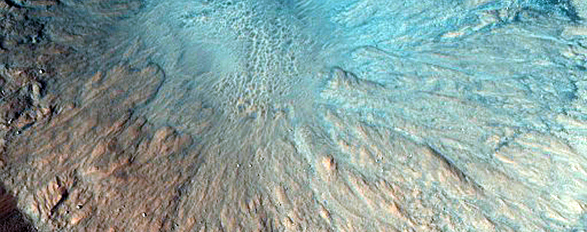 Well-Preserved Impact Crater in Acidalia Planitia