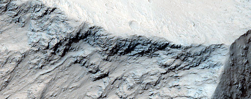 East Candor Chasma Wall