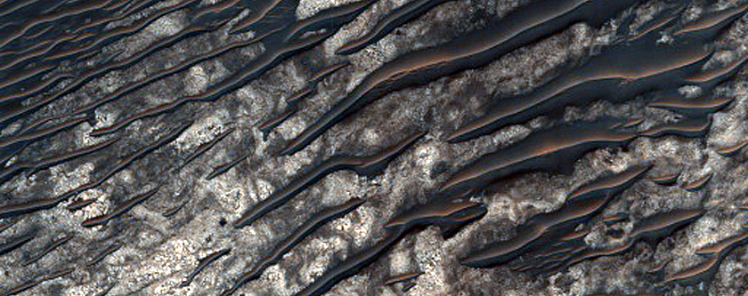 Possible Sulfates in Ius Chasma