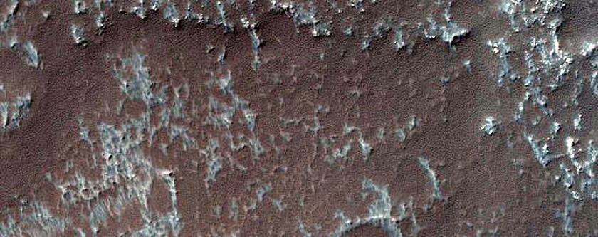 Crater Floor in Terra Sirenum