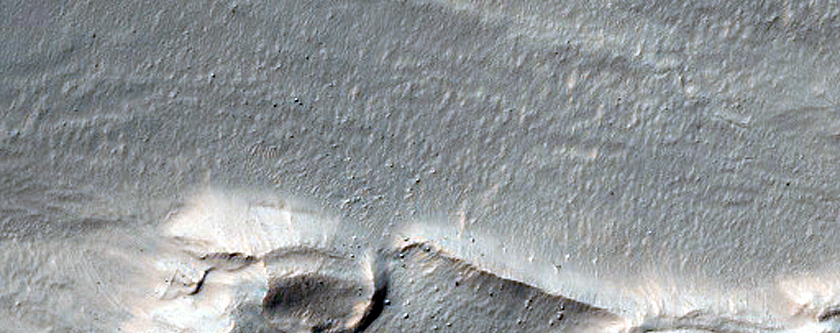 Sinuous Gullies and Arcuate Ridges