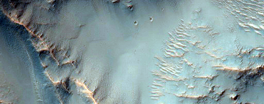 Possible Kaolin-Rich Terrain in Central Peak