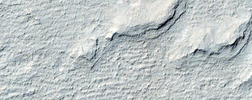 Apollinaris Sulci Ancient Dunes