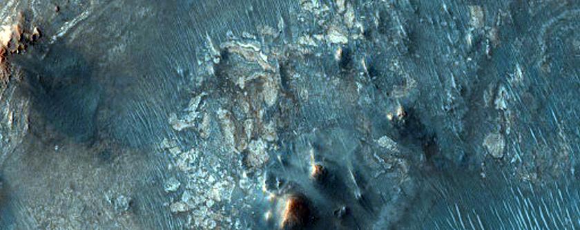 Nili Fossae Bedform Change Detection