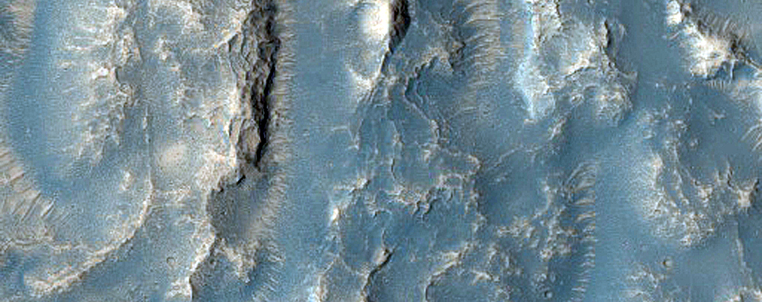 Well-Preserved Pitted Material of 15-Kilometer Crater in Tempe Terra