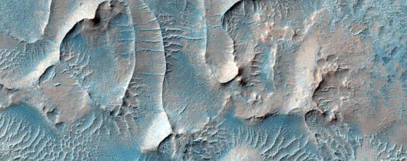 Aeolian Units in South Melas Chasma