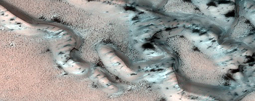 North Polar Dune Seasonal Defrost Monitoring Site