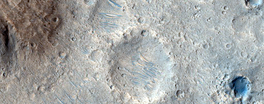 Transition from Cratered Upland to Southwest Chryse Planitia