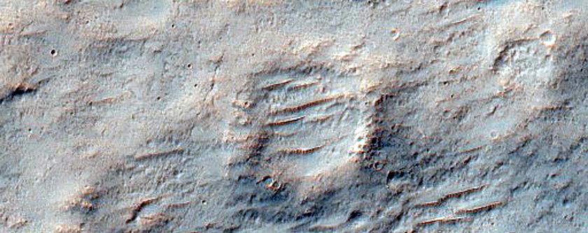 Tyrrhena Terra Terrain Sample