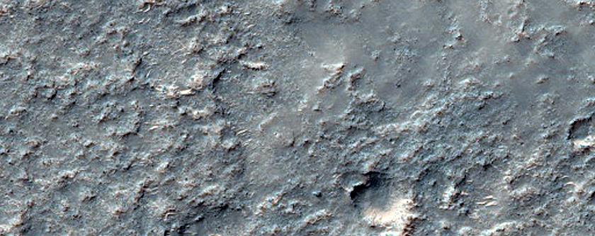 Solis Planum Terrain Sample