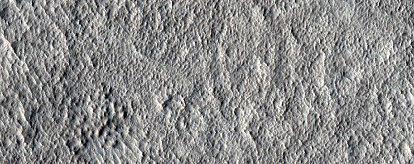 Amazonis Planitia Terrain Sample